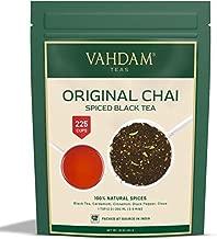 VAHDAM's India's Original Masala Chai Tea Loose Leaf (200+ Cups)   100% NATURAL INGREDIENTS   MASALA TEA with Black Tea, Cinnamon, Cardamom, Cloves & Black Pepper   16 oz
