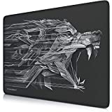 TITANWOLF - XL Alfombrilla para ratón 440 x 350 mm - Speed Gaming Mousepad - Mouse Pad para Ordenador - Base para Mesa Grandes Dimensiones - Diseño: Epsilon