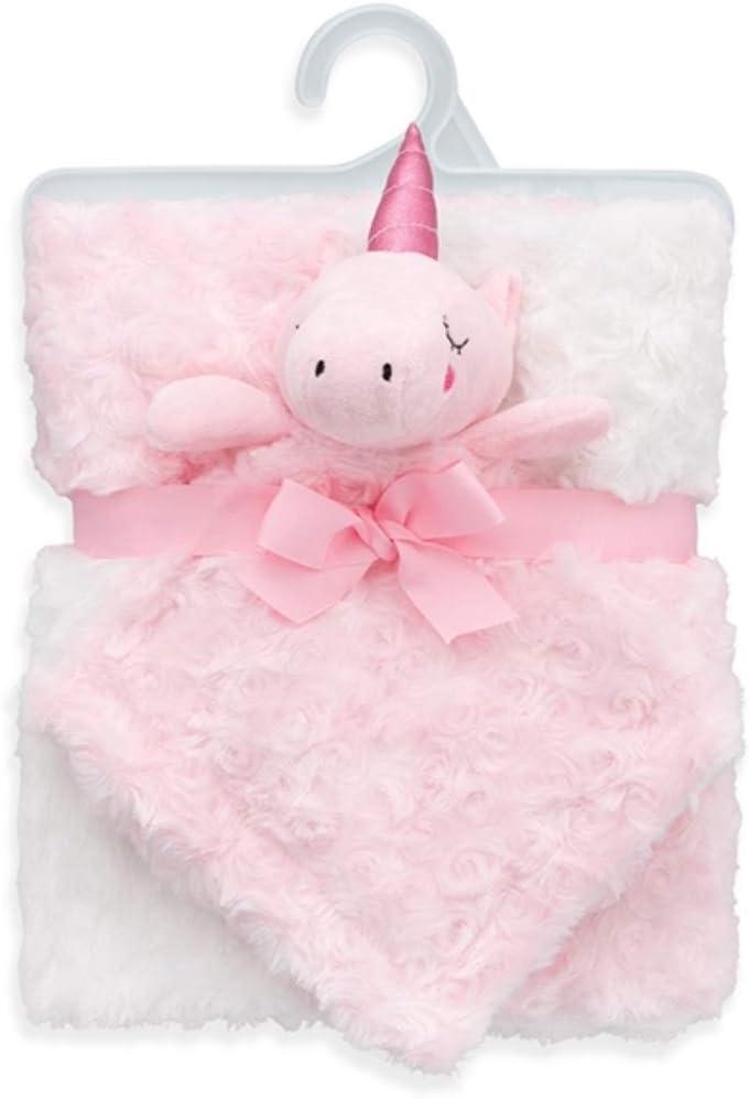 unicorn gift Unicorn Baby blanket free shipping birthday baby shower ready to ship pink blanket