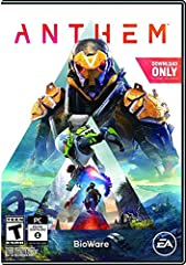 Individual heroes unite to triumph as One: the heart of anthem is a connected, social experience Choose from an arsenal of customizable exosuits Powered by EA Frostbite game engine, anthem's visually spectacular, evolving, and open world features Unp...