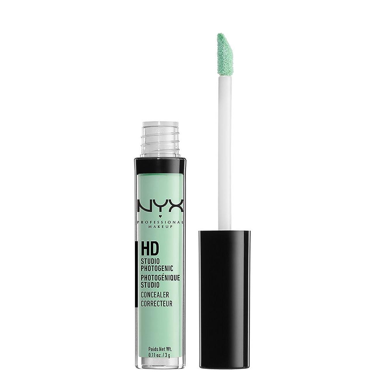 めんどり頭蓋骨本質的ではないNYX(ニックス) コンシーラー ワンド 12 カラーグリーン