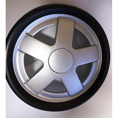 Hauck ruota posteriore con cerchio argento per Malibu All in One