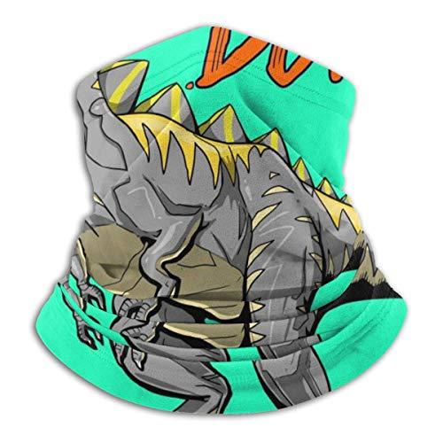 Trista Bauer Pasamontañas Crazy Monster Dinosaur Playing Basketball Slam Dunk Slogan Cómoda capucha de pasamontañas