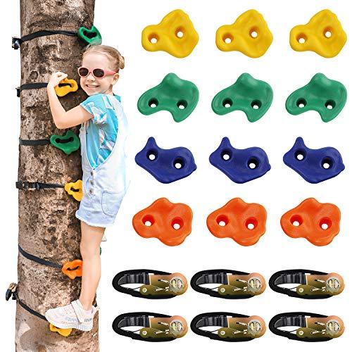 Yoassi Ninja Tree Rock Climbing Holds for Kids Climber Only $24.99 (Retail $49.99)