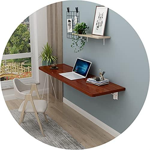 AWSAD Mesa Comedor de Pared, por Estante para Libros Puesto de Flores Mesa de Pared para Apartamento Pequeña Mesa de Comedor, Impermeable Y Duradera (Color : B, Size : 40X80cm)