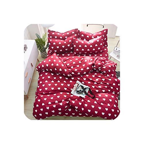 Goods-Store-uk 4 stks Kid Bed Cover Set Cartoon Dekbedovertrek volwassen kind beddengoed en kussenslopen comfortabele beddengoed Set