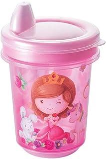 Copo de Transição 330 ml Baby Princess, Plasútil, 007087-2574, Rosa