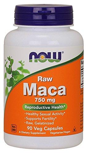 NOW MACA Raw 6:1, 750 mg, 90 kapsulen