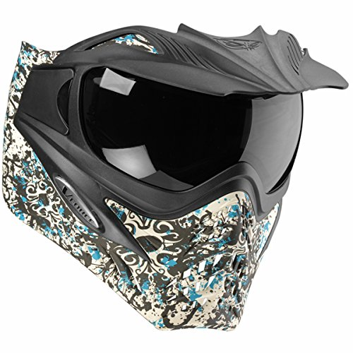 VForce Grill Paintballmaske, mit Semi HDR Glas, Grunge Teal