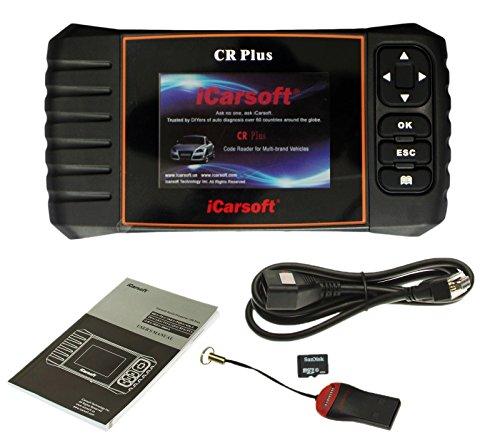 iCarsoft CR Plus OBD2 appareil de diagnostic universel, écran couleur