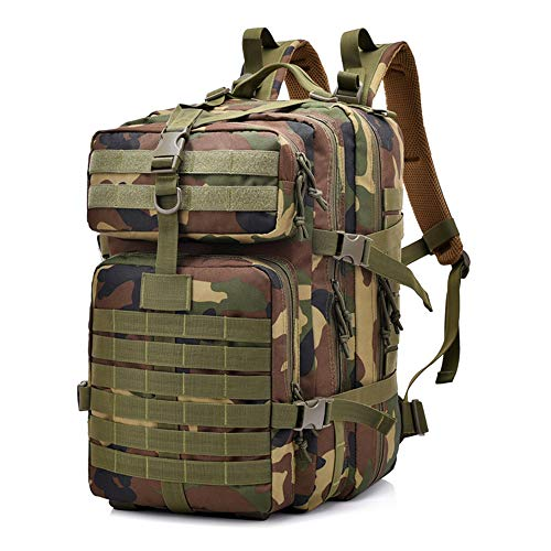Best Review Of Military Rucksack, TechCode Unisex 40L Multi-Functional Military Tactical Backpack Wa...