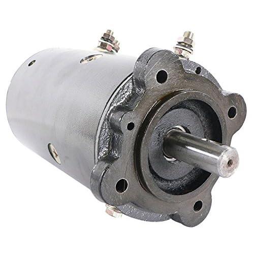 db electrical lrw0017 new winch motor for ramsey double ball bearing 6  horsepower, pierce tulsa