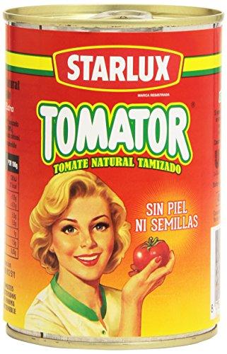 Starlux- Tomator - Tomate Natural Tamizado - 410 g
