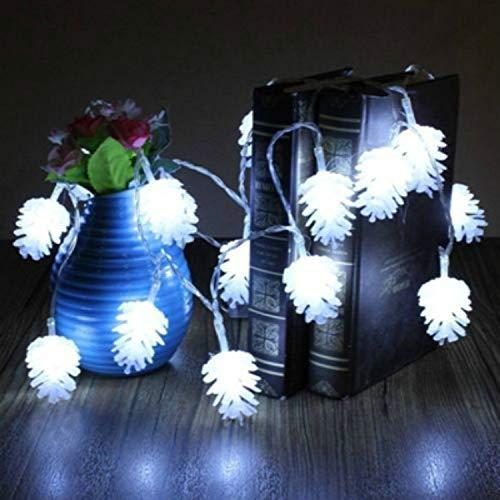 Led-snoerlamp, 16 kleuren wisselende snoerverlichting, USB-aangedreven met afstandsbediening, timer, waterdicht, kerstkerst, decoratieve verlichting voor binnen en buiten