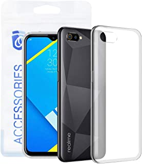 Ozone Realme C2 Case Flexible Protective Invisible Series TPU Transparent Mobile Cover Designed For Realme C2 - Clear