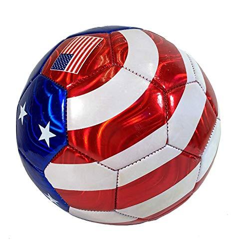 USA Flag Soccer Ball Summer Outdoor Sport Soccer Fan World Cup Football Size 5 New Jersey