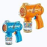 JoyGrow Seifenblasen-Pistole, Seifenblasenmaschine für Kinder, Seifenblasenpistole mit Seifenblasen...