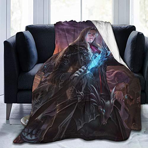 Demon-Hunter Manta de franela transpirable ultrasuave de 152 x 127 cm