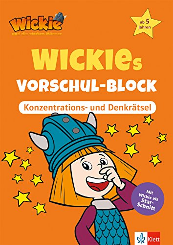 Wickie und die starken Männer: Wickies Vorschul-Block Konzentrations- und Denkrätsel: Vorschule ab 5 Jahren (Lernen mit Wickie und die starken Männer)