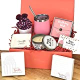 Happy Birthday Box for Women   5 Premium Special & Unique Gifts for Mom Daughter Sister Best Friend Wife   Surprise Package for Her Filled with Fun Gift Ideas