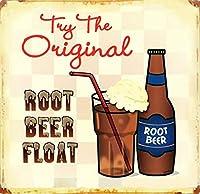 Root Beer Float ティンサイン ポスター ン サイン プレート ブリキ看板 ホーム バーために
