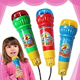 Anniston Kids Toys, Kids Echo Microphone Mic Voice Changer Toy Birthday Party Song Toy Child Gift Classic Toys for Baby Children Toddlers Boys & Girls, Random Color