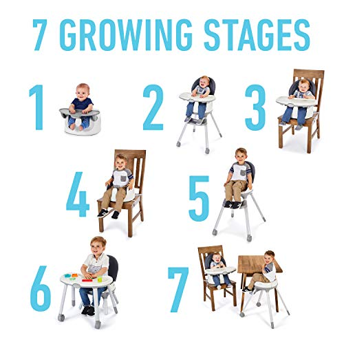 Graco Floor2Table 7 in 1 High Chair | Converts to an Infant Floor Seat, Booster Seat, Kids Table and More, Atwood