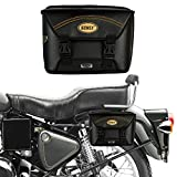 Autofy Sonex Tycoon Universal Side Bag with Two Plastic Locks for All Bikes