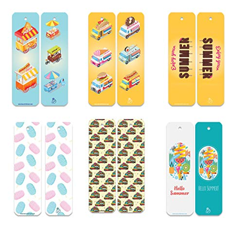 Fun Bookmark 60 pcs (Summer) Unique Design Bookmark Bulk, Perfect for Giveaways, Best Gift for Her/Him. …