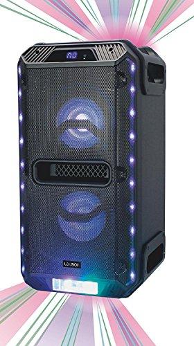 Altavoz portátil Lauson SS306 con Luces y Bluetooth