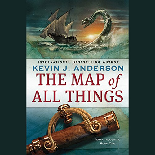 The Map of All Things audiobook cover art