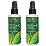 Desert Essence Relief Spray - 4 Fl Ounce - Pack of 2 - Antiseptic Eco-Harvest Tea Tree Oil & Other Essential Oils - Natural First Aid - Minor Burns - Sunburn - Insect Bites - Scrapes