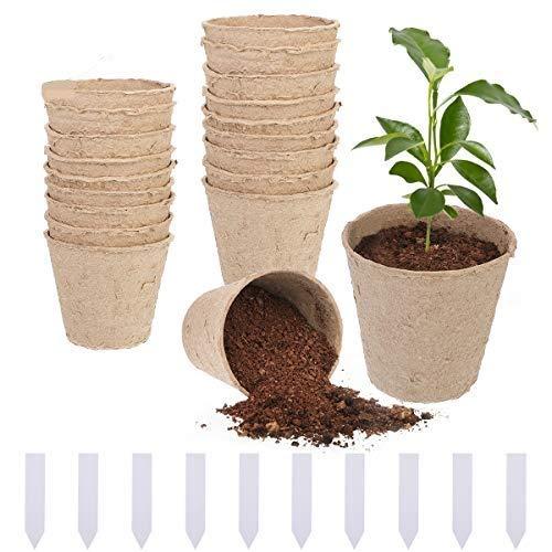 Vasi biodegradabili da giardino