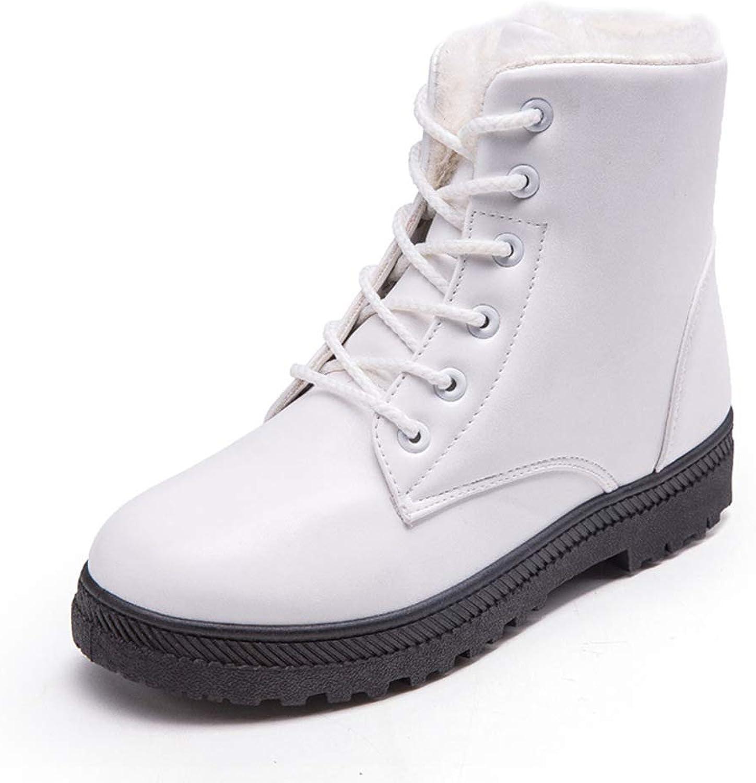 Flats Women's Snow Boots, Winter Warm Martin Boots