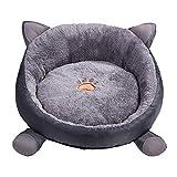 ARMAC Cama para mascotas Cama para mascotas lavable pequeño nido de gato otoño e invierno más terciopelo espesar perro Mat