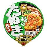 マルちゃん 緑のたぬき天そば (東) 101g