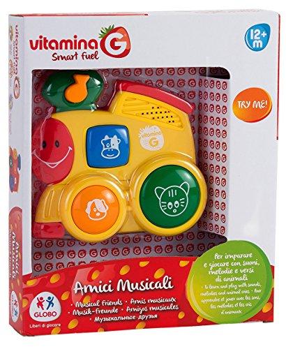 Globo Giocattoli 5169_ vitamina g 2Assortiti Try-Me Giocattolo Musicale con Suoni