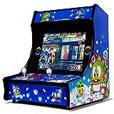 Bartop Pandora box 2700 Juegos Retro Consola Maquina recreativa Arcade Video, Mueble arcade de 19' LCD 4:3, diseño original con joysticks y botones retroiluminados, Altavoces incorporados, Mame