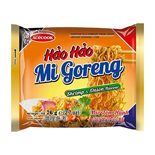 ACECOOK HH Instant Nudeln Garnelen und Zwiebel, 30er Pack (30 x 80 g)