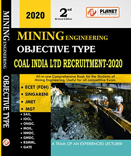 Mining Engineering Objective Type ( updated edition 2020) MCQs