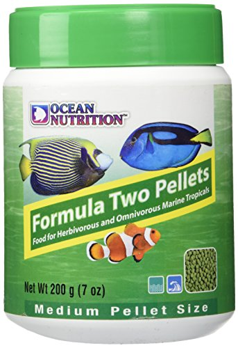 Ocean Nutrition Formula Two Pellets for Herbivorous and Omnivorous Marine Tropicals 200g