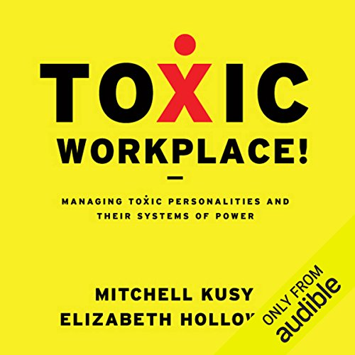 Toxic Workplace! audiobook cover art