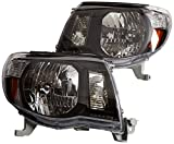 DEPO 312-1186P-US2 Replacement Headlight Set (This product is an aftermarket product. It is not created or sold by the OE car company), Black