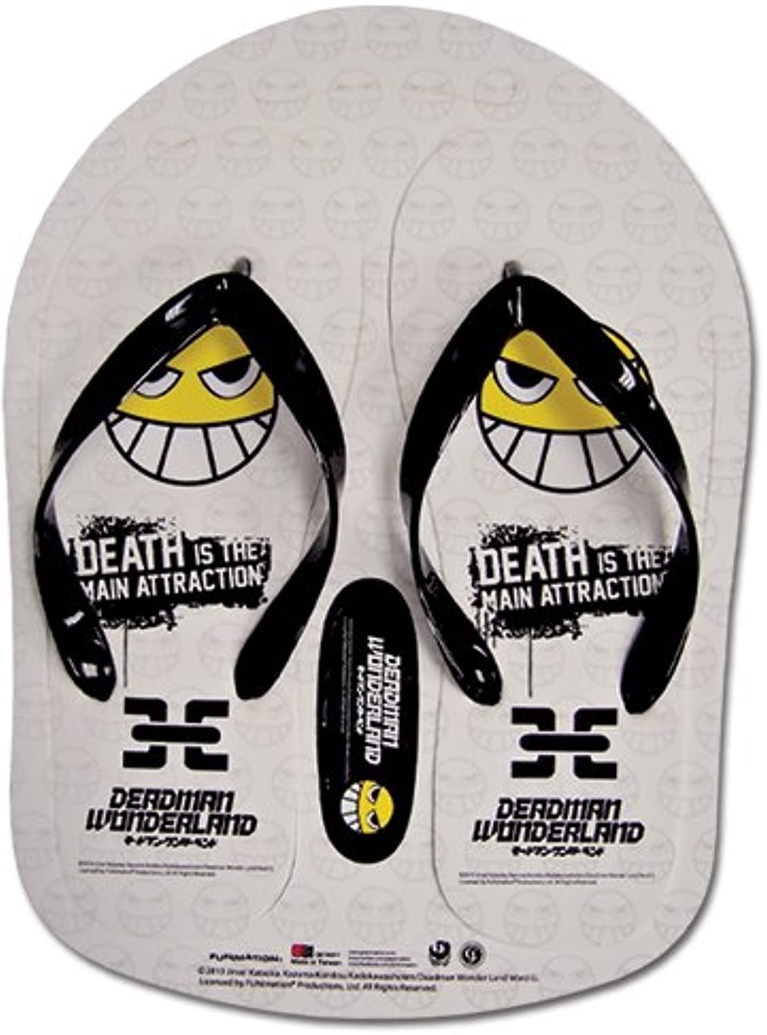 Deadman Wonderland Smile Face Sandals - 28 cm