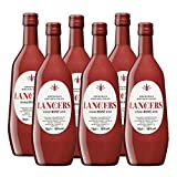 Vino Lancers Rosado de 75 cl - D.O. Setubal - Bodegas Gonzalez Byass (Pack de 6 botellas)