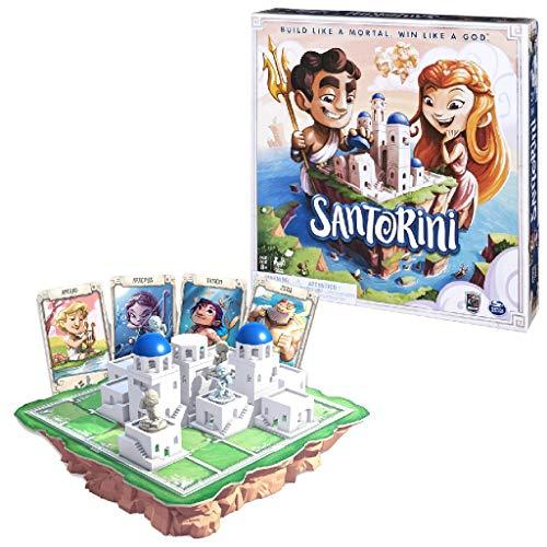 Spin Master - 6040699 - Santorini - tactisch 3D-bordspel
