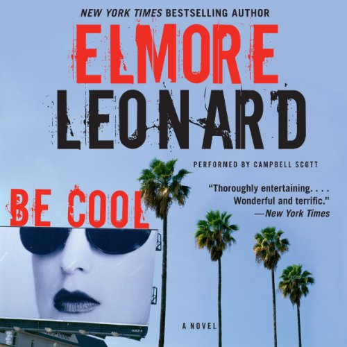 Be Cool audiobook cover art
