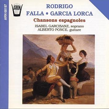 Rodriguo, Falla, Garcia : Chansons espagnoles