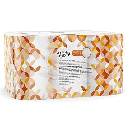 Amazon-Marke: Presto! 3-lagiges ECO Toilettenpapier, 36 Rollen (4 x 9 x 200 Blätter) - 3
