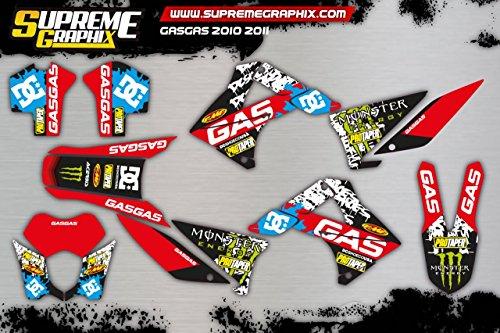 Kit Adhesivos Gas Gas 2010 2011 ADESIVY Stickers